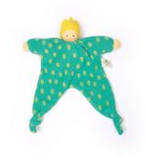 Nanchen Organic Blanket Doll - Prince Dott Green/Turquoise