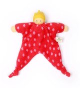 Nanchen Organic Blanket Doll - Princess Dott Red