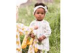 Bow Headband by Milkbarn - Organic Cotton