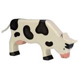 Holztiger Grazing Black Cow
