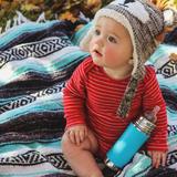 Pura Kiki Baby Bottle 11oz - Green Sleeve