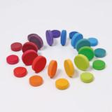 Grimm's Coins, Rainbow - 24pcs