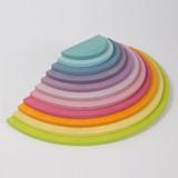 Grimm's Large Semicircles - Pastel Coloured
