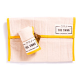 The Swag Small Produce Bag - Yellow Trim