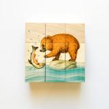 Atelier Fischer Cube Puzzle Bears - 9 Blocks