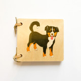 Atelier Fischer Wooden Picture Book - Domestic Animals Mini