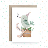 Happy BIRDay - Greeting Card