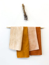 Hand-Dyed Tea Towel (Bamboo/Organic Cotton)