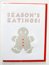 Season's Eatings - Greeting Card