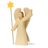 Ostheimer Large Angel with Star (White)