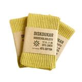Linen/Cotton Kitchen Cloth - Golden Green
