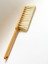 Iris Hantverk Dust Brush (White Hair)