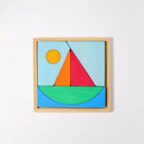 Grimm's Creative Sailboat Puzzle