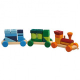 Glueckskaefer Colourful Shapes Train