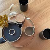 Hasami Porcelain Teapot - Matte Black