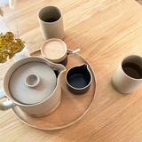 Hasami Porcelain Teapot - Matte Natural