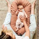Kyte Baby Bamboo Sleeveless Romper in Blush