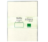 Filges Organic Wool Felt Sheet for Needle Felting and Crafting - Natural (5 Sheets)