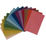 Filges Organic Wool Felt Sheet for Needle Felting and Crafting - 15 Assorted Colours
