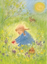 Red Easter Egg - Postcard