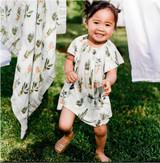 Milkbarn Bamboo Dress with Bloomer