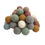 Papoose Balls (49 pc) - Earth Colours
