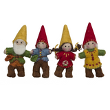 Papoose Gnomes Family - Set of 4