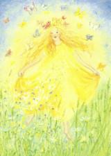 Springtime is Back - Postcard