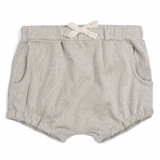 Milkbarn Bamboo/Organic Cotton Pocket Bloomer - Grey Pinstripe