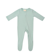 Kyte Baby Bamboo Zippered Footie in Sage
