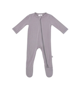 Kyte Baby Bamboo Zippered Footie in Clay