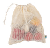 Organic Cotton Fruit and Vegetable Bag - Large (Pack of 2)