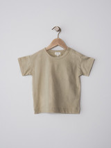 The Boxy Tee - Short Sleeve Sand