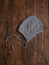 The Garden Bonnet - Lead Grey
