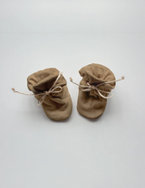 The Stay-On Booties (Fleece) - Camel