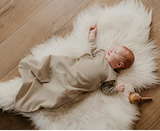 The Essential Sleep Sack (Merino Wool/Cotton/Linen) - Oatmeal