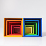 Grimm's Set of Small Boxes - Red/Yellow
