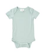 Kyte Baby Bamboo Bodysuit Short in Sage