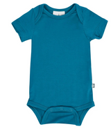 Kyte Baby Bamboo Bodysuit Short in Teal