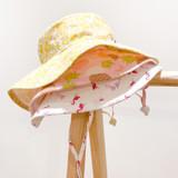 Puffin Gear Cotton Sunbaby Sun Hat - Flamingo