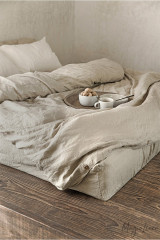 MagicLinen Queen Duvet Cover - Natural