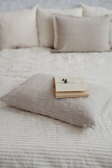 MagicLinen Queen Sized Pillowcase Cover - Natural