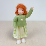Waldorf Dollhouse Doll - Mother with Red Hair