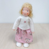 Waldorf Dollhouse Doll - Mother with Blond Hair