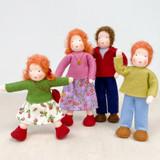 Waldorf Dollhouse Doll - Boy with Red Hair