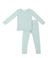 Kyte Baby Bamboo Long Sleeve Toddler Pajamas in Sage