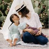 Kyte Baby Bamboo Long Sleeve Toddler Pajamas in Sage