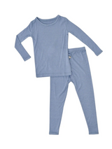 Kyte Baby Bamboo Long Sleeve Toddler Pajamas in Slate
