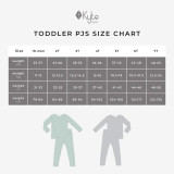Kyte Baby Bamboo Long Sleeve Toddler Pajamas in Slate