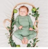 Kyte Baby Bamboo Long Sleeve Toddler Pajamas in Matcha